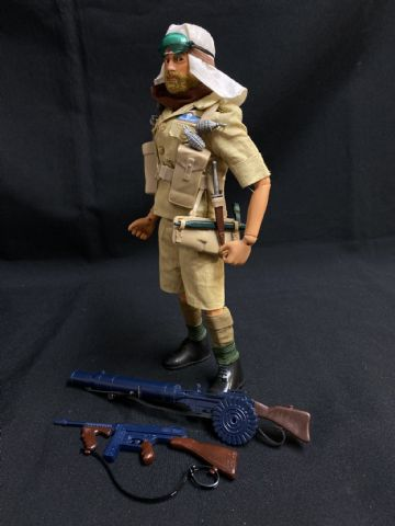 ACTION MAN - LONG RANGE DESERT GROUP - LRDG (ref8)